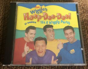 The Wiggles: Hoop-Dee-Doo! It's a Wiggly Party CD 2002 Children's HTF Complete