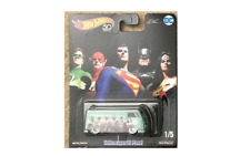 Hot Wheels Pop Culture DC Comics Justice League VW Volkswagen T1 Panel Bus