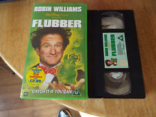 Flubber (VHS,VIDEO TAPE PAL 1998)DISNEY ROBIN  WILLIAMS CHILDREN FAMILY FILM