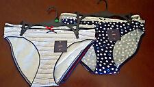 NWT 4 Pairs Women's Tommy Hilfiger Bikini Panties Underwear Size L