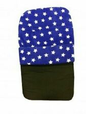 FOOTMUFF ROYAL BLUE WITH WHITE STARS NEW