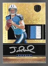 2011 Gold Standard #256 Jake Locker 3 Color Patch On Card Autograph RC #031/325