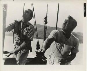 Soldier of Fortune Clark Gable Michael Rennie aboard ship Original 8x10 Photo