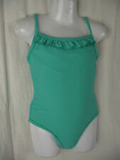 BNWT Girls Sz 7 Miss Understood Brand Pretty Green One Piece Swim Suit Bathers
