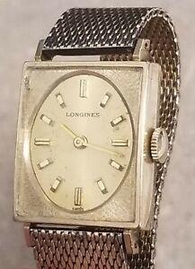 Vintage 60's Longines 17J 10k Gold Filled  Ladies Watch Caliber 450 Running
