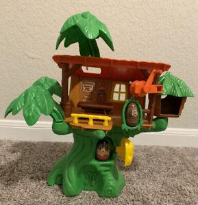 Vintage 1976 Hasbro Weebles Tarzan Jungle Hut