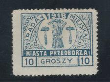 Polen Lokalausgabe Przedborz Michel-Nr. 10 ungebraucht