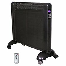 Optimus Micathermic Flat-panel Heater With Remote Control - Electric - (h8412)