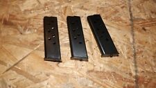 3 NEW 8rd magazines mags clips for Beretta 950 - .25acp    (B117)