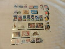 Lot of 35 Romania Stamps, 1960-1970s Art, Space, Apollo, Flowers, More