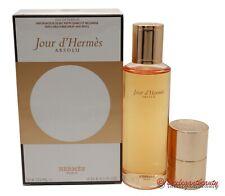 Jour D'Hermes Absolu Gift Set 4.2 oz Edp Refill+0.33 Edp Purse Spray Women New