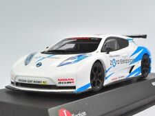 KYOSHO J-collection 1/43 NISSAN LEAF NISMO RC White/Blue