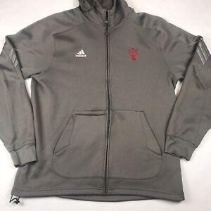 ADIDAS INDIANA UNIVERSITY HOOSIERS Climawarm Men's Jacket Size Large NCAA