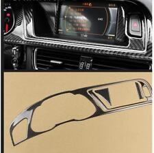Carbon Fiber Dashboard Instrument Panel Cluster Meter Trim For Audi A4 S4 A17