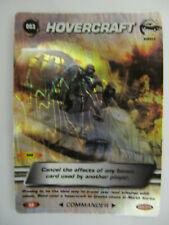 James Bond 007 Spy Cards (2008) - Hovercraft (Super Rare) 063