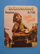 BELGIUM Beer PubCoaster: STELLA ARTOIS ~*~ Haesenstoet Belselare ~ Witch Parade