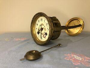 French mantel clock movement - S Marti C.1900
