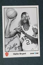 Indiana University-Globetrotters Hallie Bryant autographed 1986 basketball card!