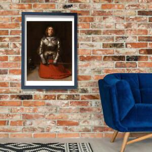 John Everett Millais - Joan of Arc Wall Art Poster Print