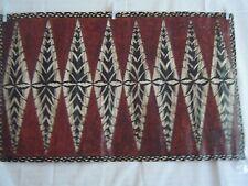 primative painting on papyrus-Fijian Islands-no.2