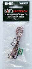 New Kato Unitrack 20-654 Extension Cable for Automatic Crossing Gate Sensor