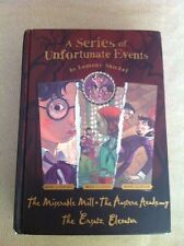A series of Unfortunate Events by Fourth, Fifth, Sixth Book by Lemony Snicket