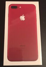 Apple iPhone 7 Plus -256gb -Unlocked Red Smartphone New Sealed