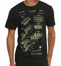 "NEW Isaac Morris Lego ""Blueprint"" Men's T-Shirt LG4M0015OL US Seller"