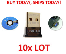 10pc LOT Bluetooth 4.0 USB 2.0 CSR 4.0 Wireless Dongle Adapter for PC LAPTOP