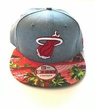 Strapback Miami Heat Mitchell & Ness StrapBacks Hat New/DS Cap