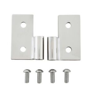 Smittybilt 7407 Lower Door Hinge Bracket Fits CJ5 CJ7 Scrambler TJ Wrangler