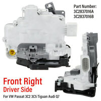 Front Right Door Lock Actuator For VW PASSAT 3C2 3C5 TIGUAN MK IV V For