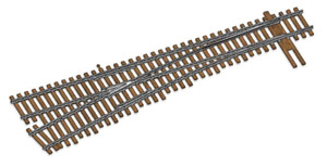 Walthers 948-83017 HO Code 83 Nickel Silver DCC Friendly #6 Turnout Left Hand
