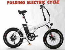 Fat tire bike e bici elettrica pieghevole 48 V 500 W GRASSO PNEUMATICO CICLO Ebike NEVE PIEGA