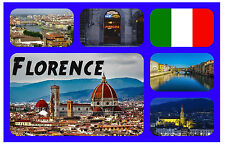 FLORENCE, ITALY - SOUVENIR NOVELTY FRIDGE MAGNET - SIGHTS / TOWNS - GIFT - NEW