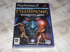 "PS2 "" CHAMPIONS RETURN TO ARMS "" SIGILLATO"