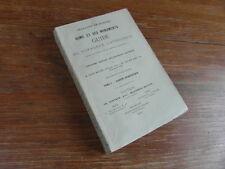 Chanoine DE BLESER / ROME ET SES MONUMENTS Guide Voyageur Catholique T1 Ed. 1891