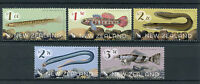 New Zealand NZ 2017 MNH Native Freshwater Fish 5v Set Eels Lamprey Fishes Stamps