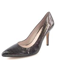 Vince Camuto Hallee Bronze Leather Snake Pointy Heel Pumps Women's Size 11 M*