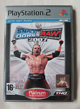 WWE SmackDown vs. Raw 2007 Platinum (Sony PlayStation 2, 2007) Good Condition