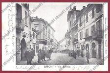 PAVIA BRONI 41 Cartolina VIAGGIATA 1904
