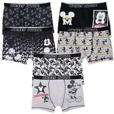 09e006b8f44c Disney Mickey Mouse Men's Character Funny Cotton Boxers Shorts Hipsters 2 -PACK