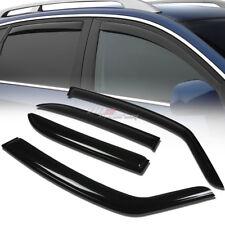 FOR 08-10 SUZUKI SX4 SMOKE TINT SIDE WINDOW VISOR SHADE/VENT WIND/RAIN DEFLECTOR