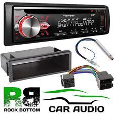 VW Golf MK4 CD Pioneer MP3 DAB + iPod iPhone Reproductor Estéreo de Coche Kit De Montaje Fascia