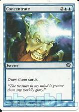 MTG Magic the Gathering TCG 8th Edition Concentrate Sorcery Blue 68 / 350