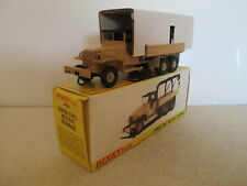 FRENCH DINKY TOYS 808 GMC RECOVERY TRUCK MIB 9 EN BOITE NEW VERY NICE L@@K