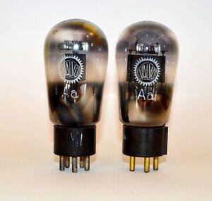 Matched pair Valvo Aa Poströhren/Postal tubes (NOS) - TU000992