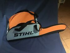 """Unused Stihl chainsaw carry,storage,transport bag (for bars up to 18"""")"""