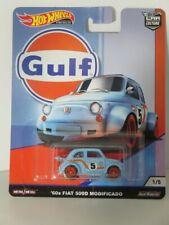 Hot Wheels 1:64 Gulf - Fiat 500D Modificado 60s Brand new