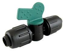 PE Rohr Kugelhahn Schnellverschluss - 16mm, PN4, Absperrhahn